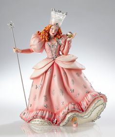 Look what I found on #zulily! Jim Shore Couture de Force Wizard of Oz Glinda Figurine by Jim Shore #zulilyfinds