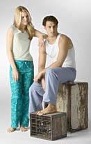 yo elijo coser: Patrón gratis pantalón estampado unisex
