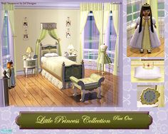 cashcraft's Little Princess Bedroom