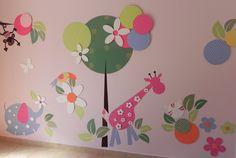 Créditos do trabalho para 'Tetê por Adriane Beatriz' - parede customizada,quarto de brincar