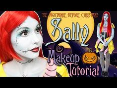 Great makeup tutorial for creating Sally - This is one of the best makeup tutorials out there.