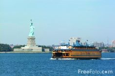 Staten Island N.Y.   Staten Island Ferry - New York City pictures, free use image, 1210-12 ...