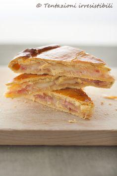 torta salata prosciutto cotto e fontina        #recipe #juliesoissons