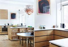 Snekkerkunst på kjøkkenet