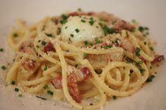 Bucatini Carbonara - Slow Poached Egg. Pancetta. Parmesan