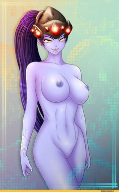 Overwatch Ero, Overwatch, Blizzard, Blizzard Entertainment, fandom, Widowmaker, shadako26