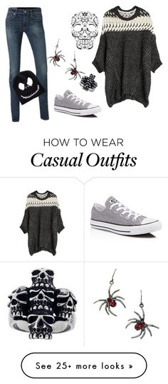 """Casual"" by alcantra-bruninha on Polyvore featuring Converse"