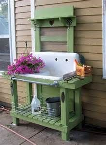 vintage sink planting benches - Yahoo Image Search Results