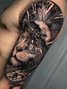 tattoos for guys * tattoos for women . tattoos for women small . tattoos for moms with kids . tattoos for guys . tattoos with meaning . tattoos for women meaningful . tattoos on black women . tattoos for daughters Best Leg Tattoos, Lion Head Tattoos, Leg Tattoo Men, 3d Tattoos, Best Sleeve Tattoos, Tattoo Sleeve Designs, Tattoo Designs Men, Body Art Tattoos, Tattoos For Guys