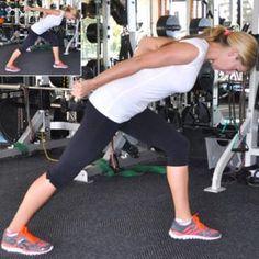 Fat-Burning Exercise: Triceps Lift - Fat-Burning Workout Routine to Tone Up Your Trouble Zones - Shape Magazine