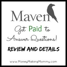 Make a little extra mad money answering questions! #workathome