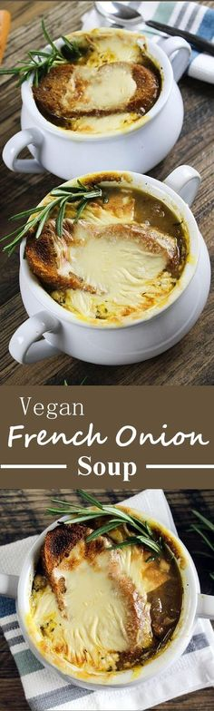Get ready to cry some happy tears, because you have found a Vegan French Onion Soup. This bistro-style classic is rich, savory & downright scrumptious. It's calls for very simple ingredients & just a little love.