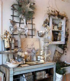 52 FLEA:  carole's christmas shop 2012