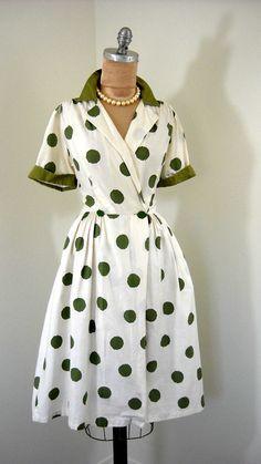 Green Polka Dots? Yes please!
