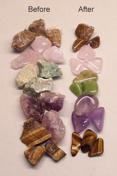 I had a rock tumbler when I was a kid. I still have all the cool rocks! Rock Tumbler Instructions - Guide to Rock Polishing Rock Tumbling, Tumbling Tips, Minerals And Gemstones, Rocks And Minerals, Raw Gemstones, Dremel, Rock Collection, Diy Schmuck, Bijoux Diy