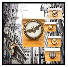 """Bring It Home"" by marketingboutique on Polyvore featuring interior, interiors, interior design, home, home decor, interior decorating and Whiteley"