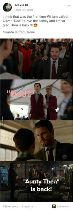 I totally didn't even notice that William called Oliver dad!!! Be still my heart! ❤️