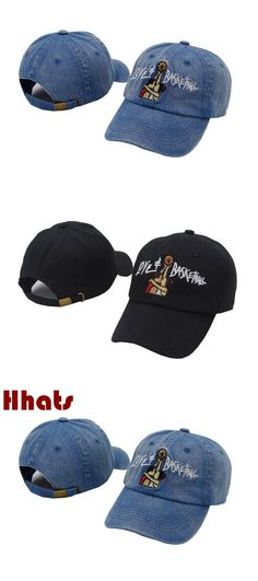 which in shower embroidered Love&Basketball movie dad hat black denim snapback baseball cap hip hop women men retro trucker cap