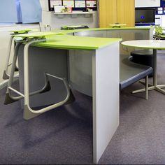 A new learning hub helps inspire students to be lifelong learners The Endeavour, Group Work, Learning Spaces, Whiteboard, Ottomans, Small Groups, Office Furniture, Collaboration