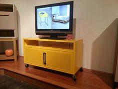 Modern look with great color pop! #hpmkt Sauder Furniture