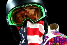 Shaun White of the United States looks on after a practice run before the Snowboard Men's Halfpipe Finals (c) Getty Images