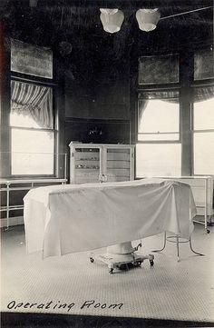 Operating room, circa 1920s