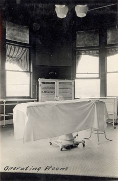 Operating room, circa 1920s