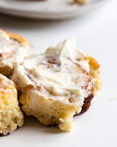 (Pretty Easy!) Keto Yeast Dough Cinnamon Rolls - Inspector Gorgeous Cinnamon Roll Cookies, Keto Cinnamon Rolls, Buttery Shortbread Cookies, Yeast Rolls, Keto Cheesecake, Low Carb Bread, Low Carb Breakfast, Keto Cookies, Dessert Recipes
