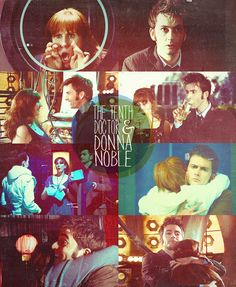 The Tenth Doctor and Donna Noble, such a great pair ♥ She didnt fall for him and called him on his junk :) Doctor Who 10, 10th Doctor, Donna Noble, Rose Tyler, Geronimo, Bad Wolf, Fire And Ice, Dr Who, Superwholock