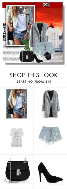 """""""yoins #12"""" by almedina-86 ❤ liked on Polyvore featuring mode, Chloé et yoins"""