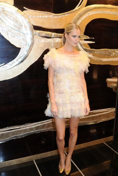 Poppy Delevingne at the Chanel London Store Opening