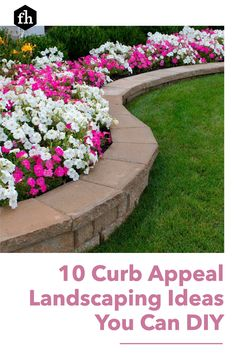 These ideas for your landscaping and front porch are simple, affordable, and will give your home a whole new look!