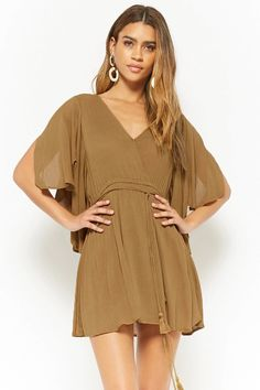 Product Name:Surplice Mini Dress, Category:dress, Fashion 101, Womens Fashion, Fashion Trends, Family Photo Outfits, Family Pics, Forever 21 Fashion, New Girl, Latest Trends, Summer Outfits