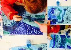 les petites têtes de l'art: Résultats de recherche pour bleu