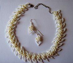 Pattern bijoux: Collana Genevieve