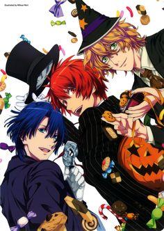 Halloween - Masato, Otoya and Natsuki