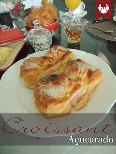 Sugary croissant