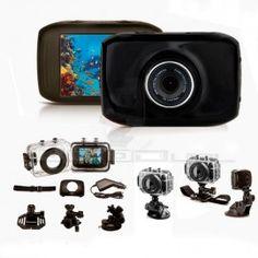 Videocámara para Casco Deporte Impermeable HD 45,95 €  Envío GRATIS Servicio 24 hora