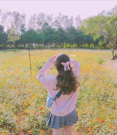 Korean Girl Photo, Cute Korean Girl, Asian Girl, Baby Pink Aesthetic, Aesthetic Girl, Korean Aesthetic, Aesthetic Photo, Girl Pictures, Girl Photos