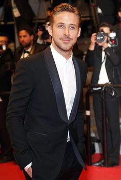 Ryan Gosling Graces Cannes 2014 in a Tuxedo; Entire Internet Swoons