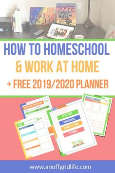 Wondering how to homeschool and work from home? Use these five tricks I discovered over the years as a working homeschool mom. Homeschool Kindergarten, Homeschool Curriculum, Homeschooling, Preschool Printables, Preschool Prep, Free Preschool, Nature Study, Work From Home Moms, Home Free