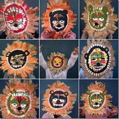 mascaras africanas Carnaval
