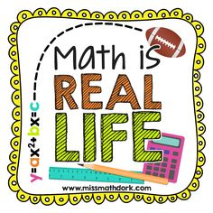 It's the first Wednesday of Marchwhich means it's time for our monthly linky - Math IS Real Life!! If you want to see how the linky works, or just want other real world math ideas, check out our P...