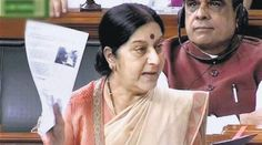 """'Lalit got travel papers only after Sushma's intervention' External Affairs Minister Sushma Swaraj on Thursday told the Lok Sabha that she """"neither requested the British authorities to provide travel documents to the former IPL Commissioner [Lalit Modi] nor recommended his case."""" http://pressclubofindia.co.in/"""