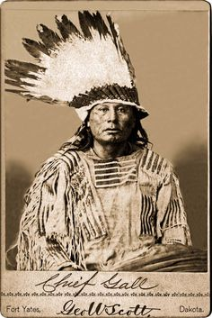 Hunkpapa chief Gall 1880