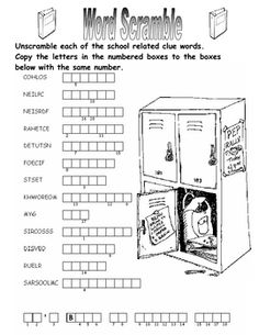 Free! Back to school puzzle!
