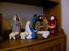 Spy Equipment Gift - The Princess & Her Cowboys Christmas Nativity Set, Christmas Town, Christmas Traditions, Nativity Sets, Christmas Bulbs, Knitting Designs, Knitting Projects, Crochet Projects, Knitting Patterns