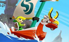 One of the Gamecube's most popular games, The Legend of Zelda: the Wind Waker (2002; Nintendo Gamecube) is often praised for its cel-shaded artwork.