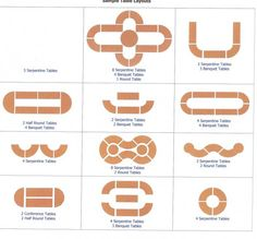 Upper right, minus the tables on the ends. - serpentine wedding table layout - Google Search