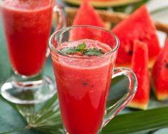 Watermelon juice detox
